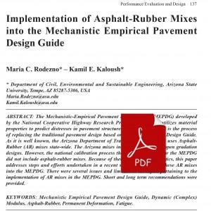 006_Implementation-of-Asphalt-Rubber-Mixes-into-the-Mechanistic-Empirical-Pavement-Design-Guide