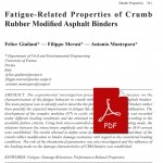033_Fatigue-Related-Properties-of-Crumb-Rubber-Modified-Asphalt-Binders