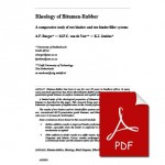 Rheology of Bitumen-Rubber
