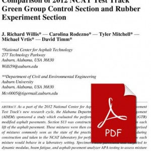 Comparison_2012_NCAT_Test_Track_Green_Group_Control_Section_and_Rubber_Experiment_Section
