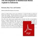 The_Development_Rubberized_Buton_Asphalt_in_Indonesia